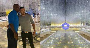 المصمم العالمي Preston Bailey يشكر رجل الأعمال اللبناني شفيق نور الدين