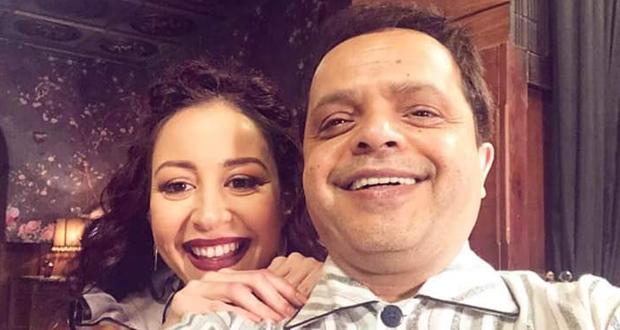 منة شلبي لـ محمد هنيدي: بحبك حب.. والأخير يرد: من بعض ما عندكم