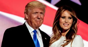 """ترامب وزوجته ميلانيا ينضمان إلى متحف """"مدام توسو"""" في دبي"""