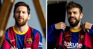 برشلونة يكشف عن قميصه الجديد للموسم المقبل