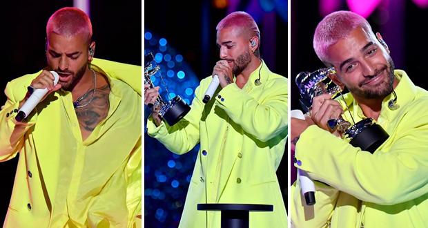مالوما يفوز بجائزة MTV 2020 ويقدّم عرضًا مبهرًا أمام الملايين