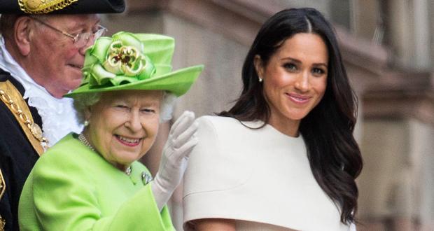 رغم ابتعادها.. هكذا عايدت الملكة إليزابيث ميغان ماركل بعيد ميلادها