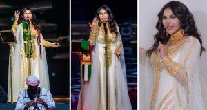أحلام تتألق في افتتاح حفلات اليوم الوطني السعودي 90