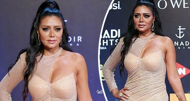 رانيا يوسف تتعرّض للسخرية بسبب فستانها في مهرجان الجونة