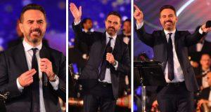 بالصور – وائل جسار يطرب جمهور مهرجان الموسيقى العربية