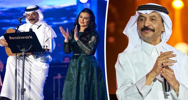 عبادي الجوهر وأصيل هميم يغنيّان حب السعودية