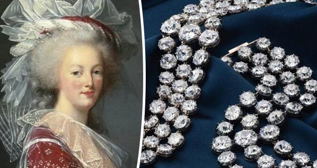 أساور ماسية لآخر ملكات فرنسا معروضة للبيع في مزاد علني