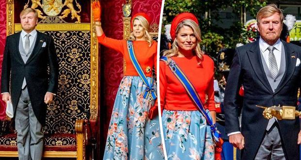 الملكة ماكسيما والملك ويليام يفتتحان البرلمان الهولندي